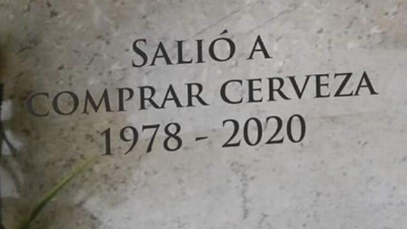 SALIÓ A COMPRAR CERVEZA EN TIEMPOS DE COVID Y SE CONTAGIÓ