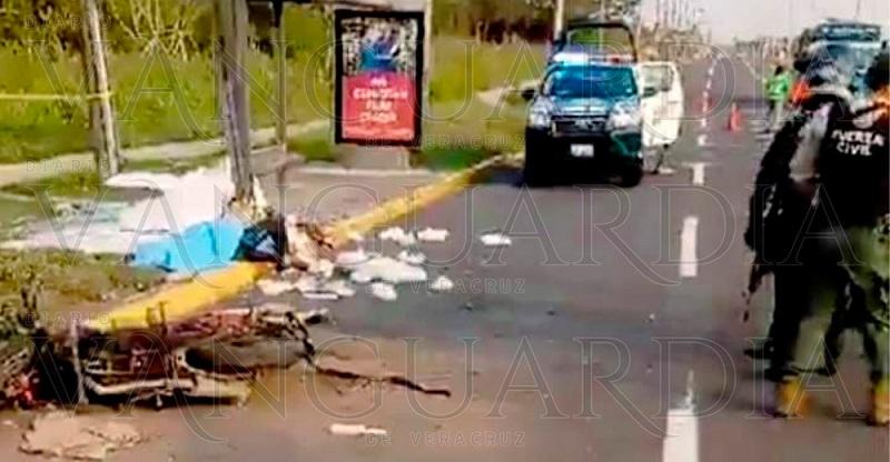 SE MATA EN MOTO REPARTIDOR DE TORTILLAS EN ALVARADO