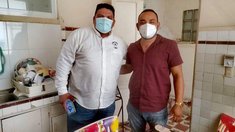 BUSCANDO UNIDAD VÍCTOR Y ELMER SE REÚNEN EN POS DE ALCALDIA DE COSAMALOAPAN