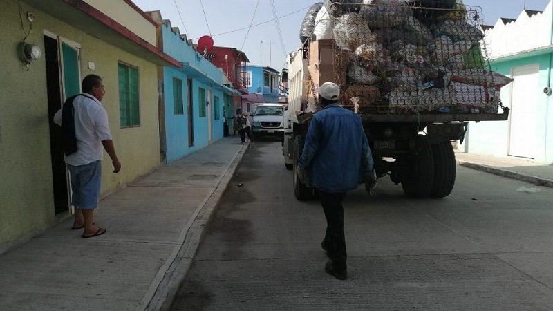 AGRADECEN A PINEDA, QUE IMPLEMENTÓ SERVICIO DE RECOLECCIÓN DE BASURA EN ACULA