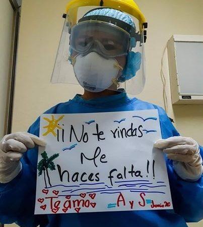 DOCTORA DE LERDO, MANDA MENSAJE A SU ESPOSO ENFERMO POR COVID