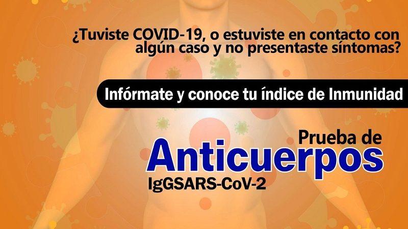 OFRECE VÍCTOR FRÍAS, PRUEBA DE ANTICUERPOS POR COVID-19 EN COSAMALOAPAN