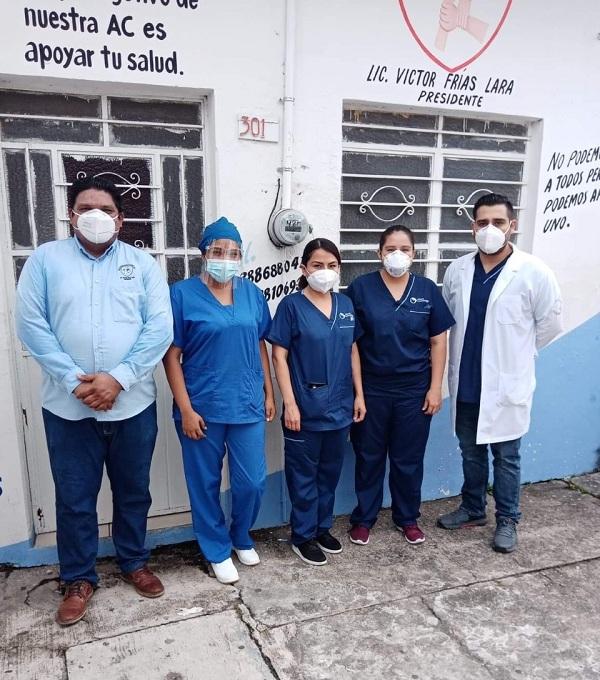 ATENDIENDO A LA SALUD, FRIAS SIGUE APOYANDO CON MÉDICOS PARA PRUEBAS COVID EN COSAMALOAPAN