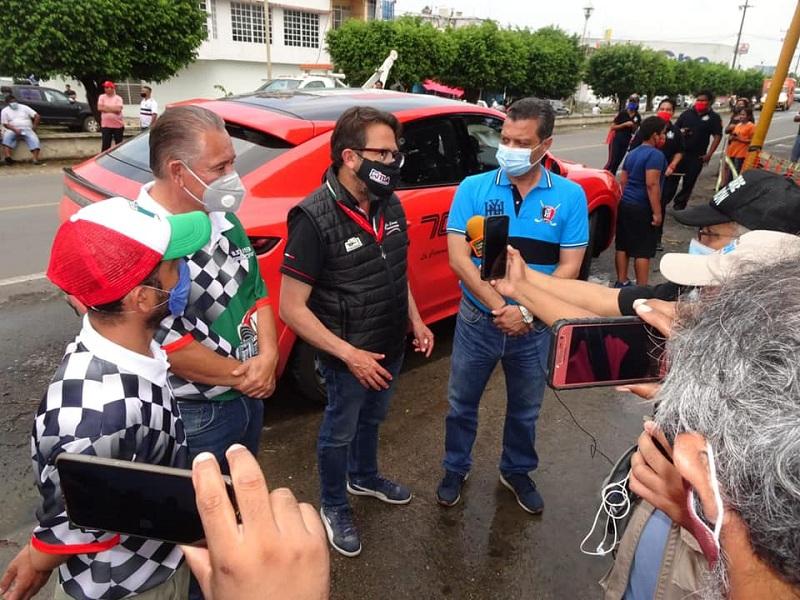 NO HUBO EXTRANJEROS EN CARRERA PANAMERICANA EN SU PASO POR LA CUENCA