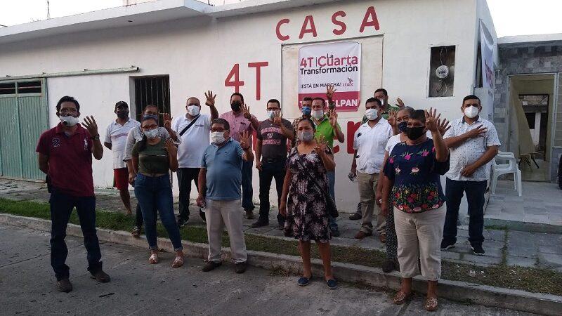 INAUGURAN CASA DE MORENA EN TLACOTALPAN