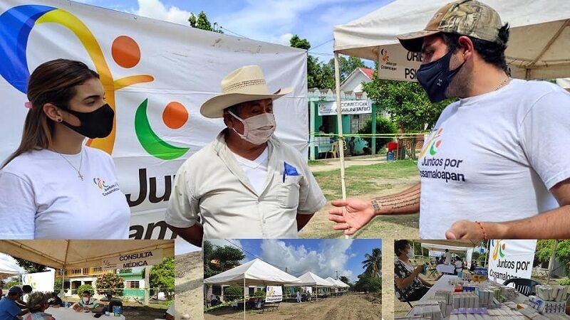 UN ÉXITO LA JORNADA DE PEPE CHIUNTI EN OYOZONTLE DE COSAMALOAPAN