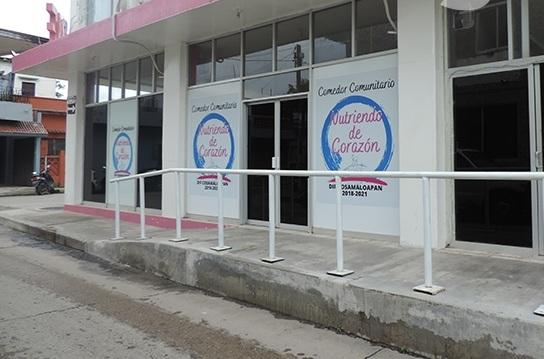 DOS DE DICIEMBRE SE INAUGURA COMEDOR COMUNITARIO EN COSAMALOAPAN: DIF