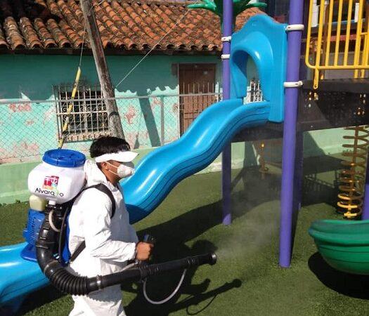 GOBIERNO DE BOGAR CONTINÚA LUCHA CONTRA EL COVID EN ALVARADO