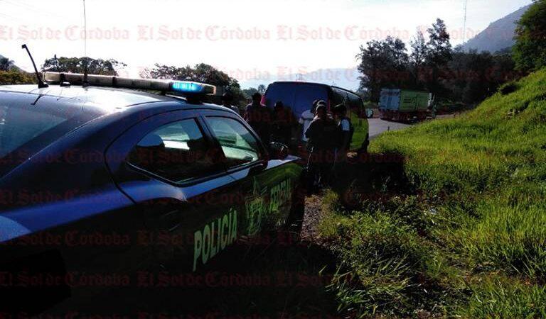 MUERE MUJER POR ACCIDENTE EN AUTOPISTA COSAMALOAPAN-LA TINAJA
