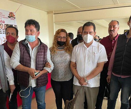 IRÍA CLARITA ALMENDRA COMO CANDIDATA DE MORENA POR IXMATLAHUACAN
