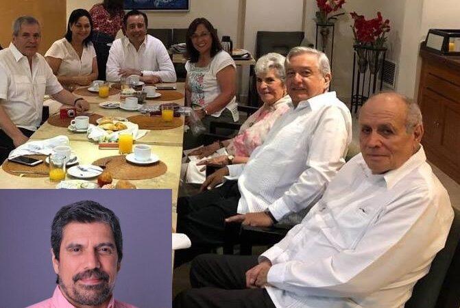 DUEÑO DE PERIÓDICO DE VERACRUZ, ASUME CARGO DE CONAGUA CON AMLO; SU MAMÁ ES EMBAJADORA Y HERMANA DIPUTADA