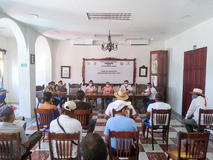 CHRISTIAN BLINDA A TLACOTALPAN, ANTE TERCERA OLA DE COVID