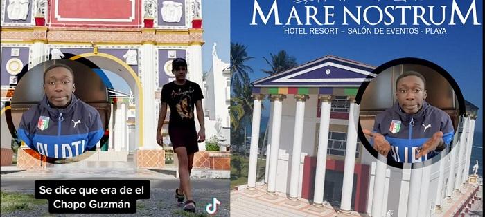 IGNORANTE TIKTOKERO DICE QUE HOTEL MARE DE ALVARADO ES DE EL CHAPO