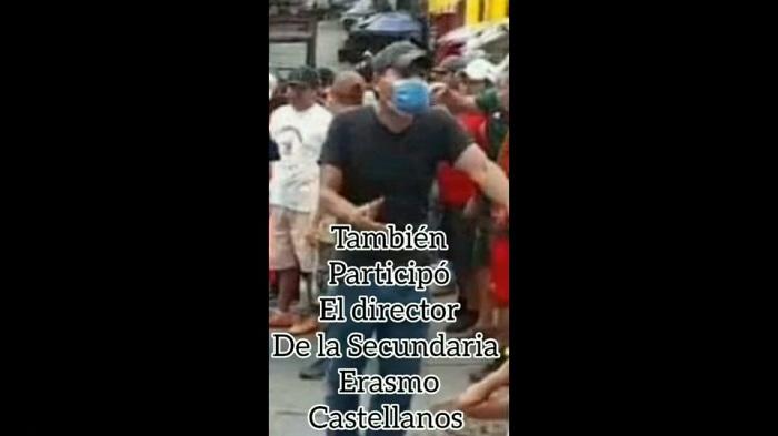 DIRECTOR DE ESCUELA, UNO DE LOS RESPONSABLES DE ATENTADO EN SANTIAGO